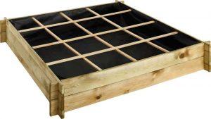 Carré de potager en bois traité Cardon 90 & 120