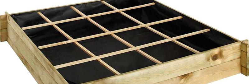 carré potager en bois traité Cardon 90 & 120
