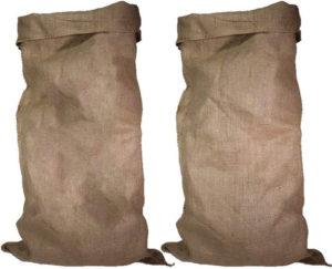 Avis - Predominio Premium Lot de 3 grands sacs en toile de jute 105 cm x 60 cm 100 % écologiques