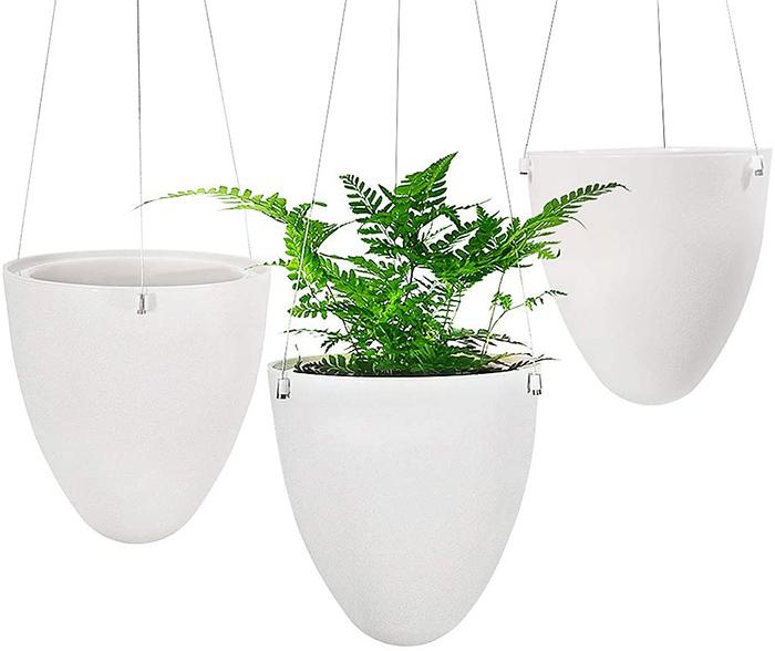 Sungmor Garden Arrosage automatique Pot de fleurs à suspendre